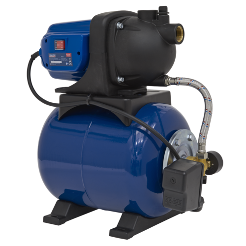 Surface Mounting Booster Pump 50L/min 230V - Sealey - WPB050