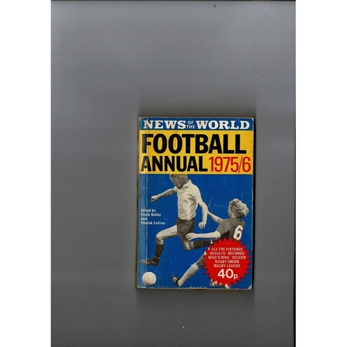 1975/76 News of the World Football Annual