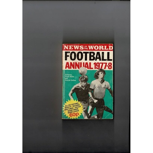 1977/78 News of the World Football Annual