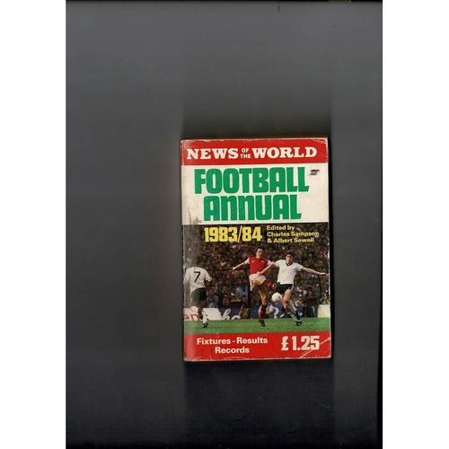 1983/84 News of the World Football Annual