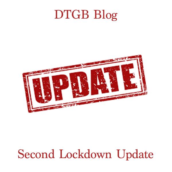 Second Lockdown Update