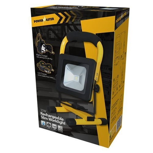 LED RECHARGEABLE WORKLIGHT - 10W - POWERMASTER - S11566