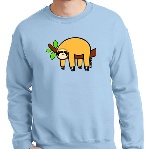 'Orange Sloth' Sweatshirt