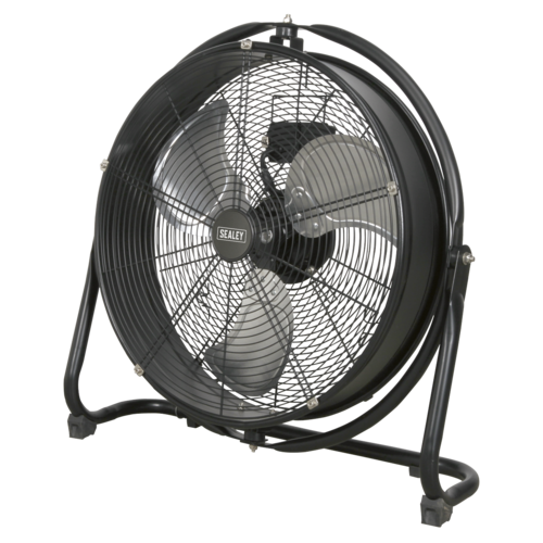 "Industrial High Velocity Orbital Drum Fan 20"" 230V - Sealey - HVF20S"