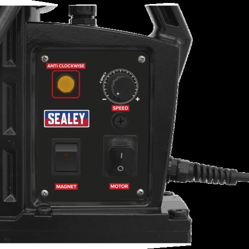 Magnetic Drilling Machine Heavy-Duty 60mm 230V - Sealey - MAG60230VHD