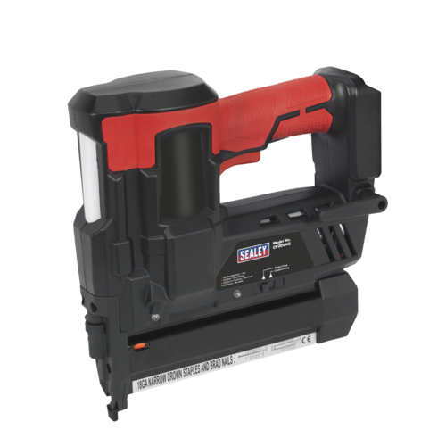 Cordless Nail/Staple Gun 18G 20V Lithium-ion - Body Only - Sealey - CP20VNG