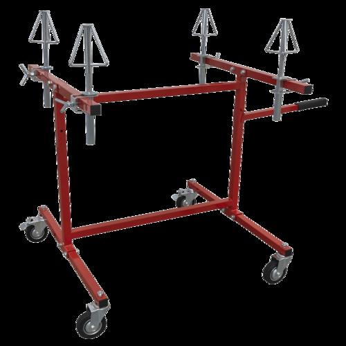 Alloy Wheel Repair/Painting Stand - 4 Wheel Capacity - Sealey - MK74