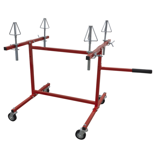 Alloy Wheel Repair/Painting Stand - 4 Wheel Capacity - Sealey - MK74