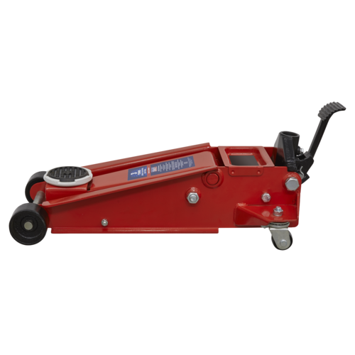 Trolley Jack 3tonne with Foot Pedal - Sealey - 3001CXP