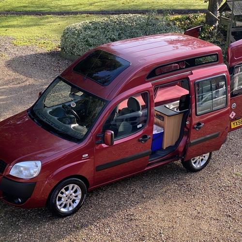 2006 (56)reg Fiat Doblo 1.9 M-Jet Camper Van 2 Berth PRO Conversion 77863 miles