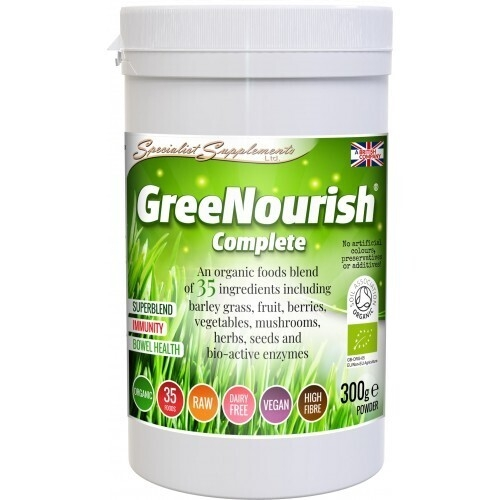 GreeNourish Complete Organic Powder