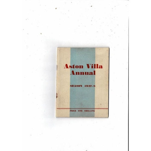 Aston Villa Official Football Handbook 1947/48