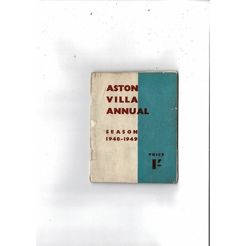 Aston Villa Official Football Handbook 1948/49