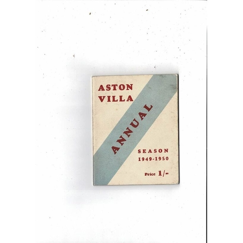 Aston Villa Official Football Handbook 1949/50