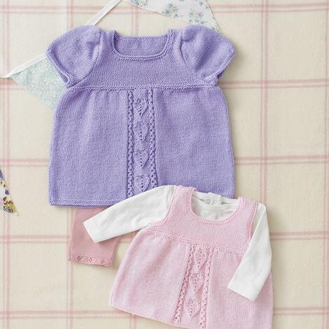 4-Ply Dress & Pinafore Pattern 4885