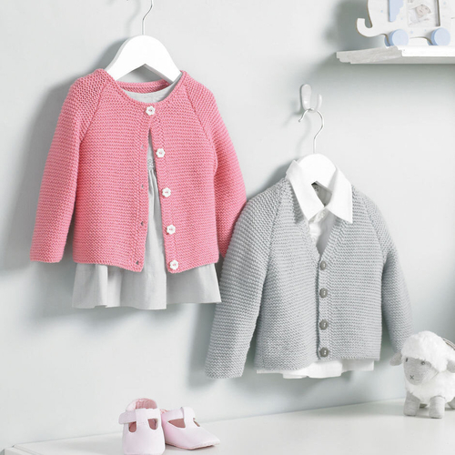 4ply baby unisex cardigans pattern 5220