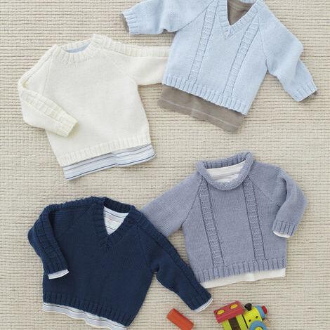 4ply sweater pattern 4810
