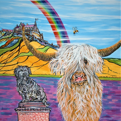 Art Print - Rainbow Greyfriars Bobby