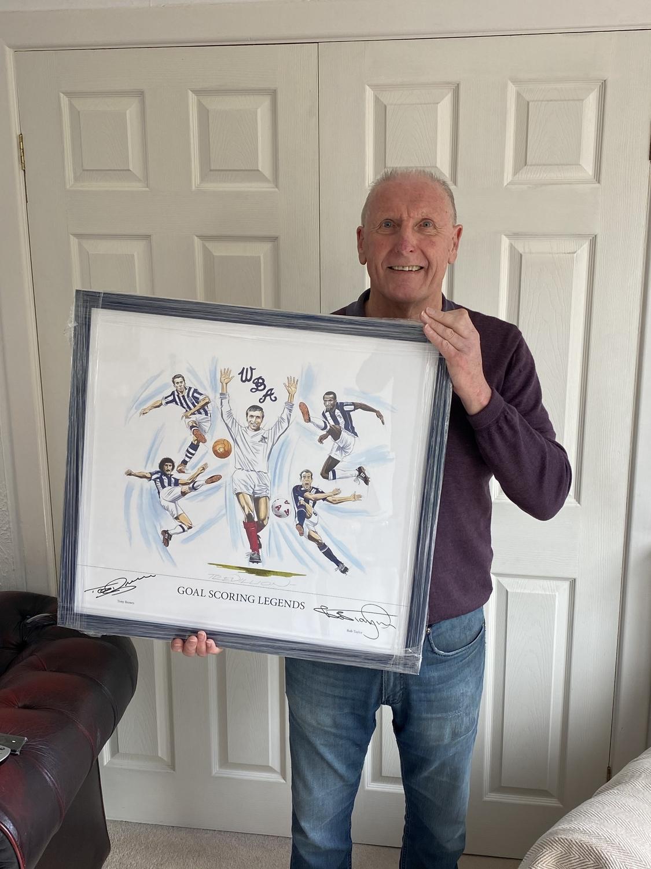 Tony Bomber Brown Goal Scoring Legend
