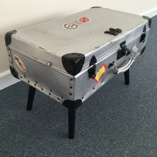 Upcycled Vintage Suitcase Table