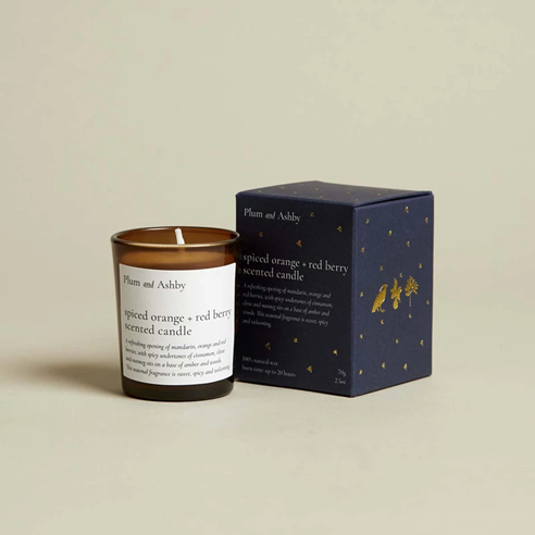 Spiced Orange and Red Berry Votive