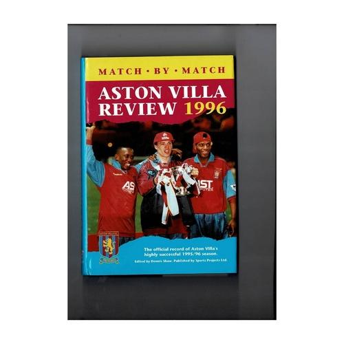 Aston Villa Review 1996 Hardback Football Book