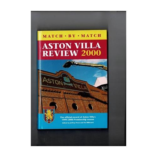 Aston Villa Review 2000 Hardback Football Book