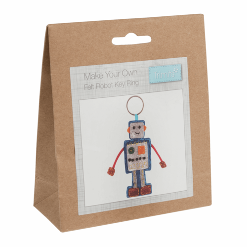 Trimits 'Make Your Own' Robot Key Ring