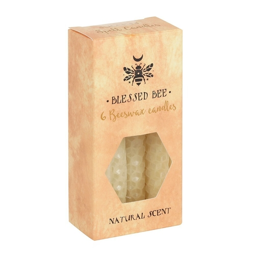 Ivory Beeswax Spell Candles (6 Pack)