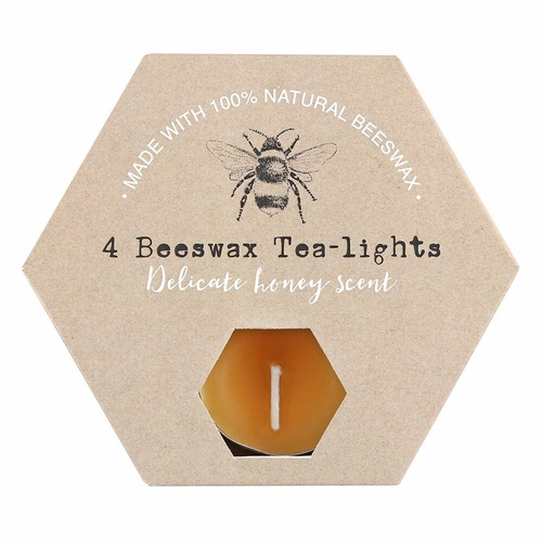 Beeswax Tealights (4 Pack)
