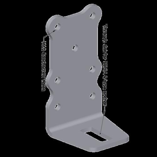 SA239 - 90° 7 Hole Bracket