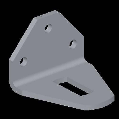 SA342 - 90° Joist Support 3 Hole Bracket