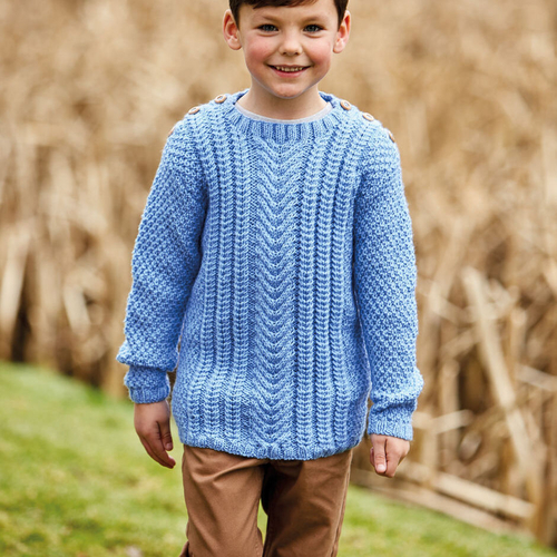 Aran sweater pattern 2506