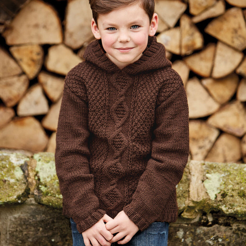 Child's aran pattern 2508