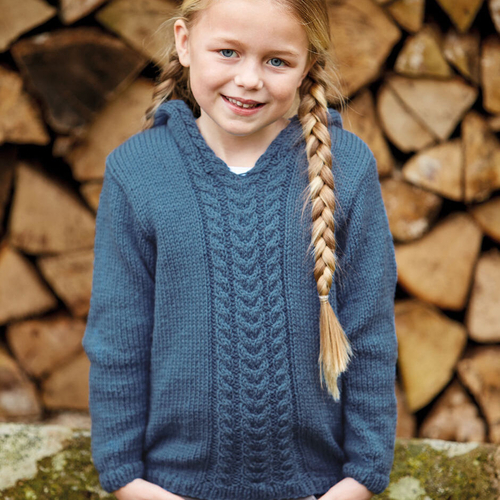 Child's aran pattern 2509
