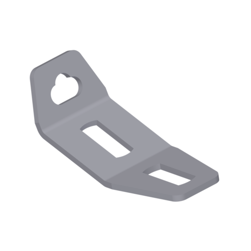SA454 - 50° 2 Slot Tethering Bracket