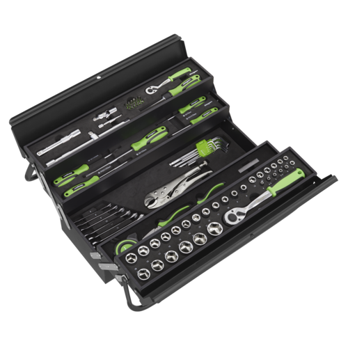 Cantilever Toolbox with 86pc Tool Kit - Sealey - S01216