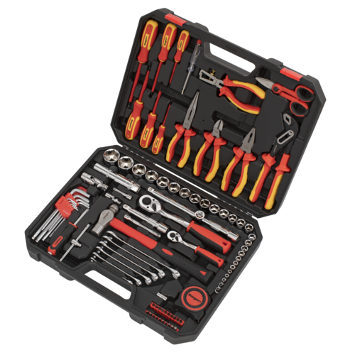 Electrician's Tool Kit 90pc - Sealey - S01217