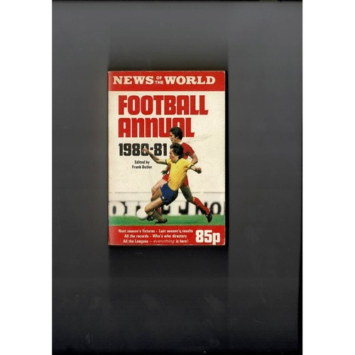 1980/81 News of the World Football Annual
