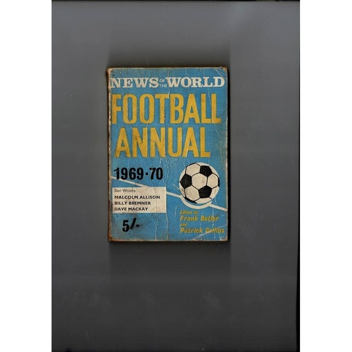 1969/70 News of the World Football Annual