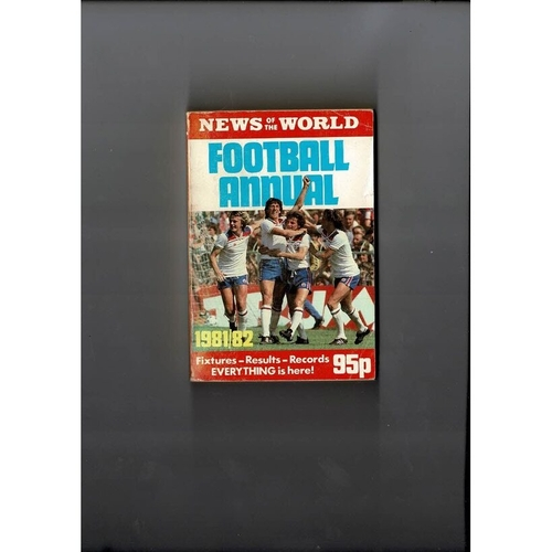 1981/82 News of the World Football Annual