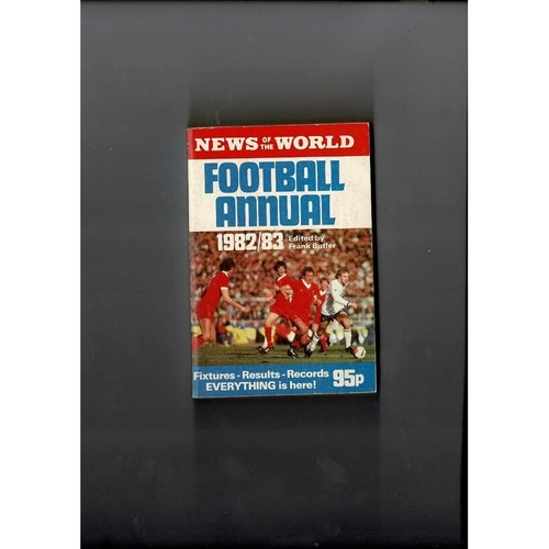 1982/83 News of the World Football Annual