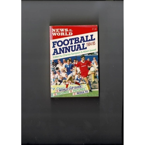 1984/85 News of the World Football Annual