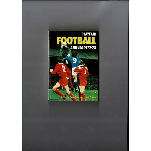 Playfair Football Annual 1977/78