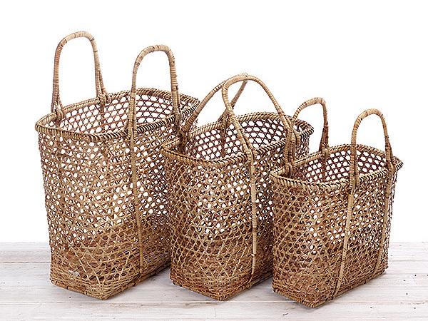 Rattan Shopping Basket/ Beach Basket / Picnic Basket