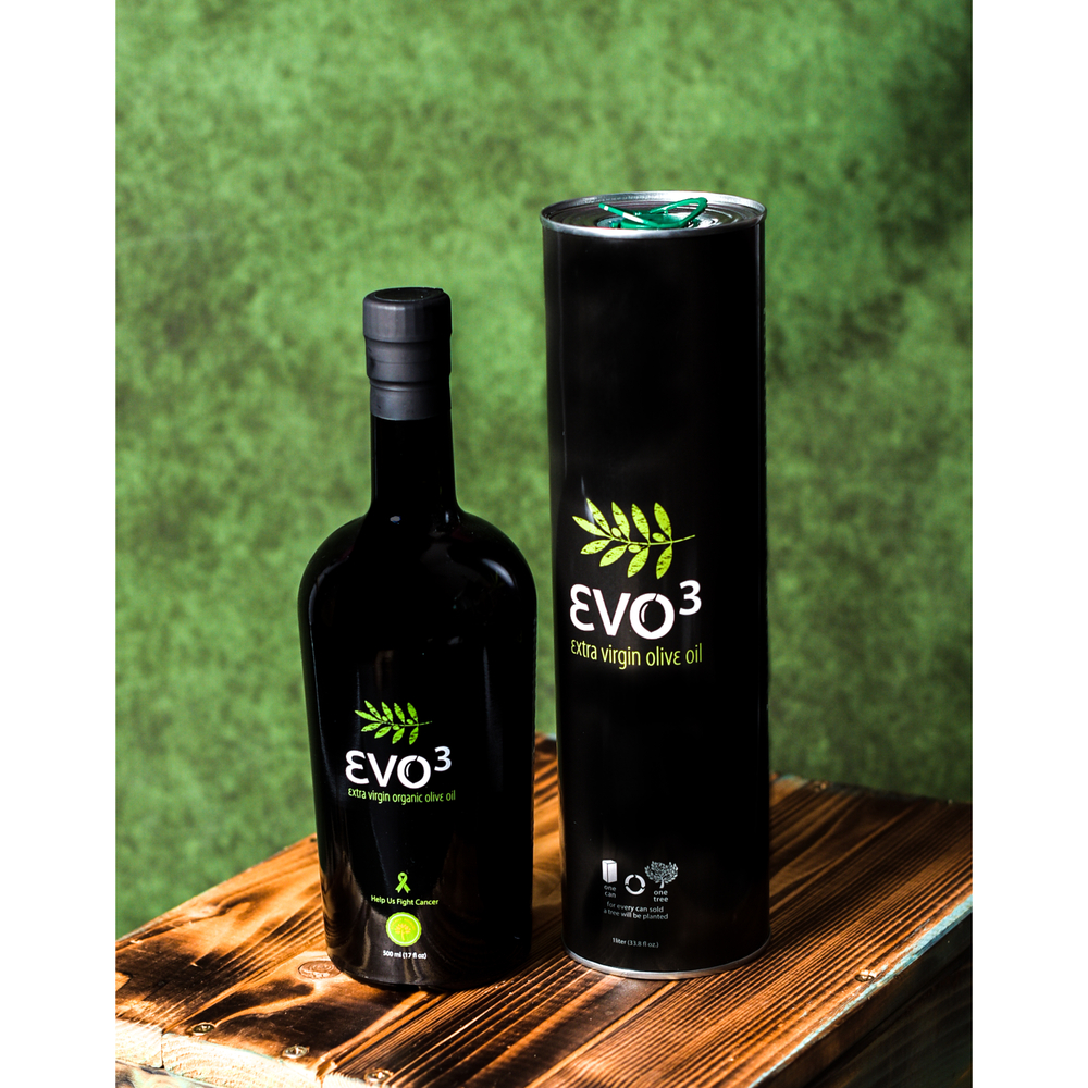 EVO3 1L Can Extra Virgin Olive Oil