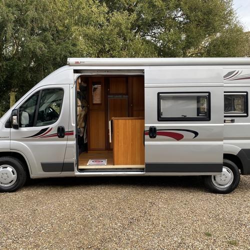 2007 Peugeot Boxer 2.2 HDi LWB Camper Van 2 Berth Silver Rear Lounge