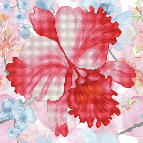 Sparkle Garden - Crimson