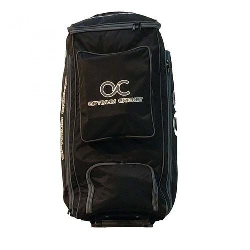 Academy Wheelie Duffle Bag Black