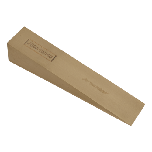 Wedge 200 x 40 x 40mm Non-Sparking - Sealey - NS122